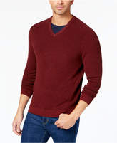 Tommy Bahama Men's Las Palmas Reversible V-Neck Sweater