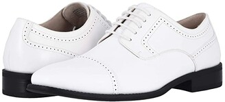 Stacy Adams Waltham Cap Toe Oxford (White) Men's Shoes
