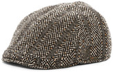 Wigens Wool Donegal Stripe Slim Ivy Hat