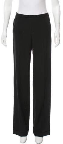 Jean Paul Gaultier Mid-Rise Wide-Leg Pants