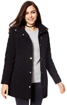 New York & Co. Quilted Hooded Jacket