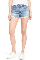 AG Jeans Women's The Sadie High Waist Cutoff Denim Shorts