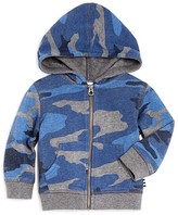 Splendid Boys' Camo Zip-Up Hoodie - Sizes 2-7
