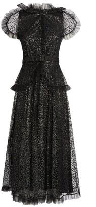 Rodarte Embellished Tulle Dress