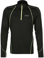 Gore Running Wear Essential Sports Shirt Black/neon Yellow