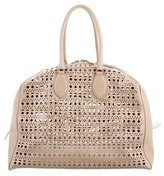 Alaia Large Laser Cut Shoulder Bag