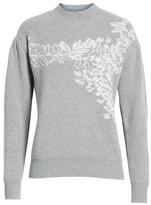 Rebecca Taylor Women's Jacquard Floral Pullover
