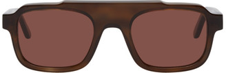 Thierry Lasry Brown Fatality 128 Sunglasses