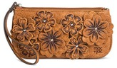 Mac & Jac Mac + Jac Wallet Bolo Shopping Bag Brown Floral