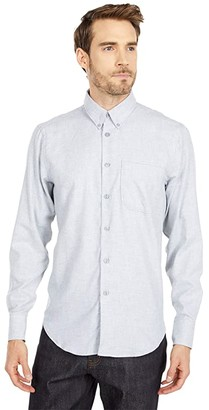 Naked & Famous Denim Easy Shirt in Soft Twill (Grey) Men's Clothing