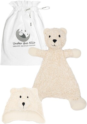 Under the Nile Bear Lovey & Hat Organic Cotton Gift Set