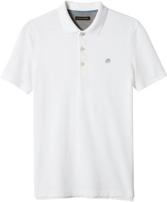 Banana Republic Slim Signature Pique Polo Shirt