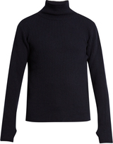 Oliver Spencer Ribbed roll-neck wool sweater