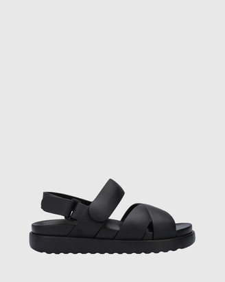 Melissa Women's Black Strappy sandals Bubble Up Sandal - Size One Size, 37 at The Iconic