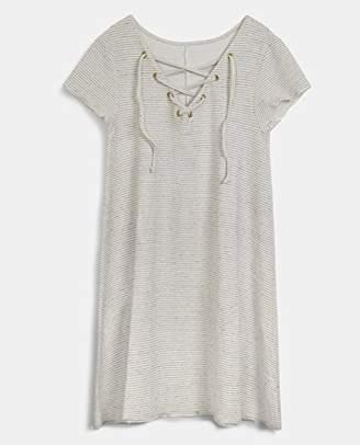 The Hip Tee Women's Rutilo Dress, (Vintage White 0203), (Size: 0203-S/M)