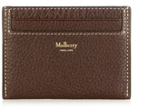 Mulberry Grained-leather Cardholder