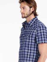Lucky Brand Indigo Dobby Santa Fe Western Shirt