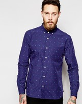 YMC Shirt With Multicoloured Small Spot