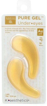 Earth Therapeutics Hydrogel Gold Under Eye Mask