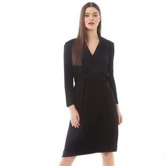 French Connection Womens Belted Dress Black