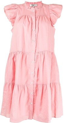 Sea Shannon frill shoulder dress