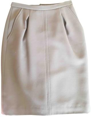 Dolce & Gabbana Camel Wool Skirt for Women