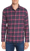 Grayers Men's Leighton Trim Fit Plaid Flannel Sport Shirt