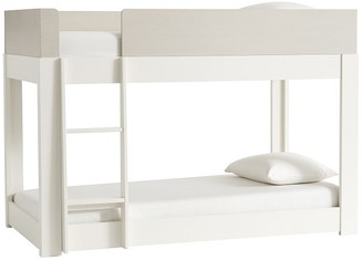 Pottery Barn Kids Milo Twin-over-Twin Low Bunk Bed
