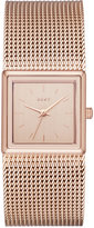 DKNY Women's Stonewall Rose Gold-Tone Stainless Steel Mesh Bracelet Watch 25mm NY2564
