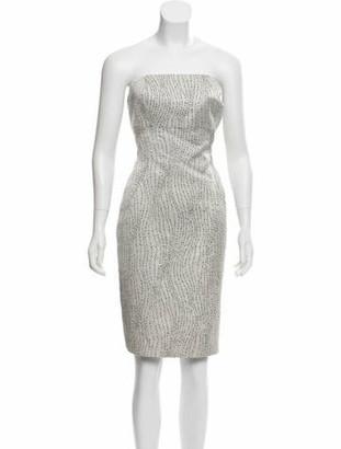 Luca Luca Textured Mini Dress Grey