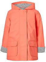 John Lewis Girls' Raincoat, Pink