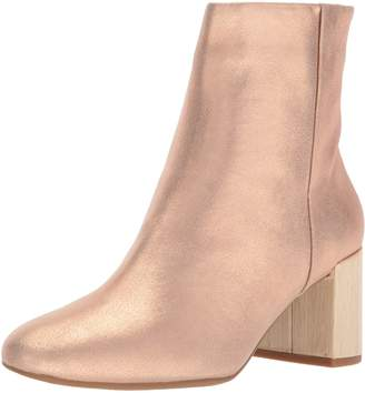 Taryn Rose Women's Cassidy Powder Metallic Ankle Boot