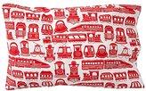 Organic All Aboard Red Train Pillowcase