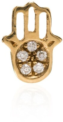 Loquet Hand of Fatima diamond charm