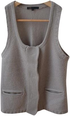 Maje Beige Cashmere Knitwear for Women