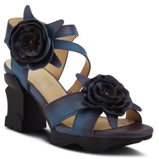 L'artiste By Spring Step Shelly Platform Sandal