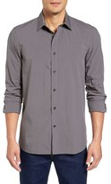 Victorinox Men's Trim Fit Check Sport Shirt