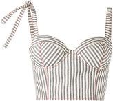 Rosie Assoulin Bustier corset top