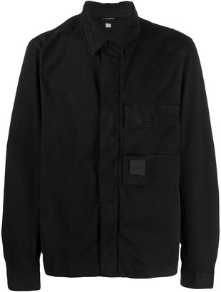 C.P. Company Velcro Patch Overshirt