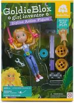 GoldieBlox Zipline Action Figure - Ages 4+