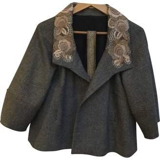 Megan Park Multicolour Wool Jacket for Women