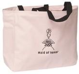 Hortense B. Hewitt Maid of Honor Wedding Gift Tote Bag - Pink