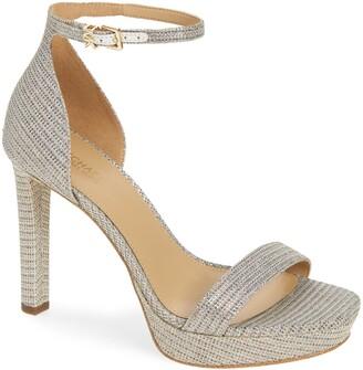 MICHAEL Michael Kors Margot Glitter Platform Sandal