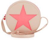 Stella McCartney Girls' Glitter Star Crossbody Bag, Blossom Pink