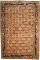 """Ecarpetgallery Hand-knotted Keisari Yellow Traditional 11'7"""" x 17'9"""" 100% Wool kitchen dining room area rug"""