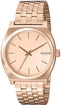 Nixon Time Teller A045. 100m Water Resistant Women's Watch (37mm Band. Stainless Steel Watch Face)