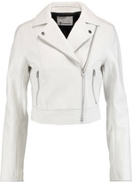 Alexander Wang Textured-leather jacket