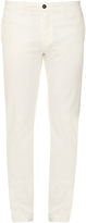 Massimo Alba Slim-fit stretch cotton-blend trousers