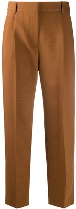 See by Chloe Cropped Pleated Trousers