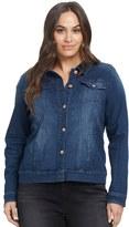 Gloria Vanderbilt Plus Size Ellie Denim Jacket